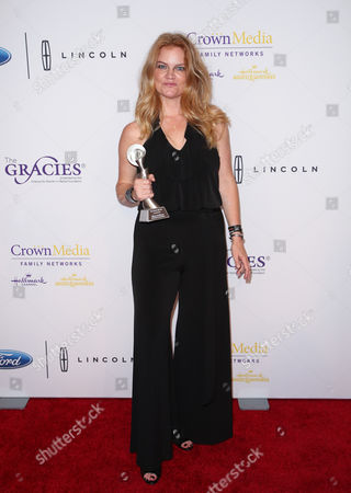 Editorial picture of The 41st Annual Gracie Awards, Arrivals, Los Angeles, America - 24 May 2016