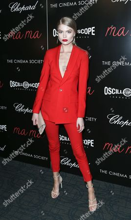 Editorial photo of The Cinema Society and Chopard Host a Screening of Oscilloscope's 'ma ma', New York, America - 24 May 2016