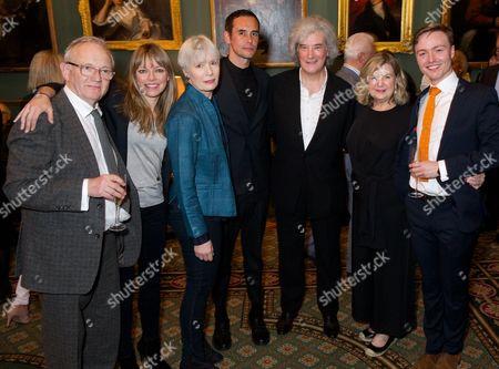 Bruce Alexander, Sarah Alexander, Jane Wymark, Steve John Shepherd, Karl Sydow (Producer), Ann Mitchell & Joseph Prowen