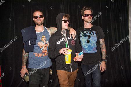 Highly Suspect - Johnny Stevens, Rich Meyer, and Ryan Meyer