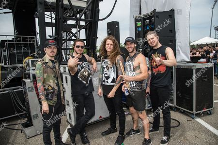 Editorial picture of Rock On The Range festival at Mapfre Stadium, Columbus, Ohio, America - May 2016