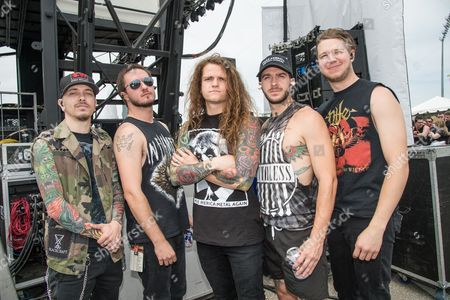 Editorial image of Rock On The Range festival at Mapfre Stadium, Columbus, Ohio, America - May 2016