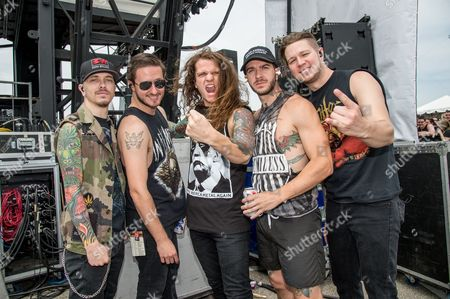 Editorial photo of Rock On The Range festival at Mapfre Stadium, Columbus, Ohio, America - May 2016
