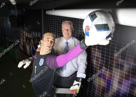 Editorial image of Joe Hart waxwork figure unveiled at Madame Tussauds in Blackpool, Britain - 24 May 2016