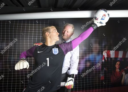 Editorial photo of Joe Hart waxwork figure unveiled at Madame Tussauds in Blackpool, Britain - 24 May 2016