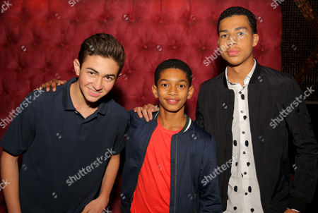 Stock Photo of Sayeed Shahidi, Marcus Scribner and guest
