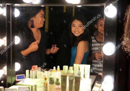 Ashley Liao and Kyla-Drew Simmons