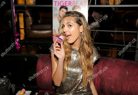 Editorial photo of Tiger Beat Magazine Launch Party, Inside,  Los Angeles, America - 24 May 2016