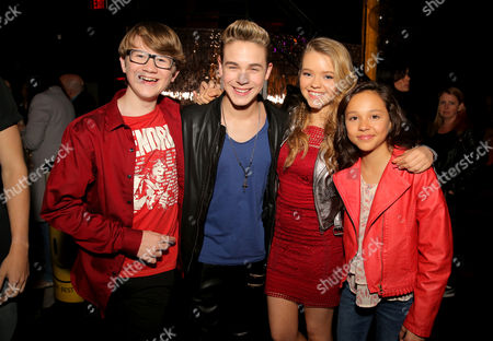 Editorial image of Tiger Beat Magazine Launch Party, Inside,  Los Angeles, America - 24 May 2016