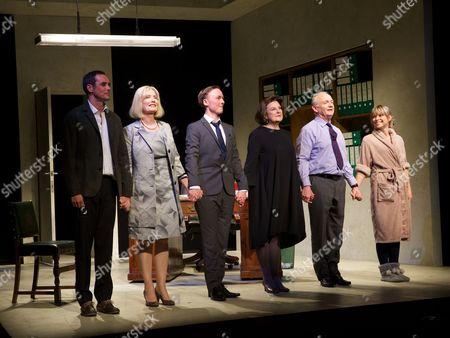 Stock Picture of Steve John Shepherd, Jane Wymark, Joseph Prowen, Ann Mitchell, Bruce Alexander and Sarah Alexander