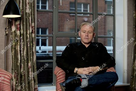 Musician Kirk Brandon photographed in London