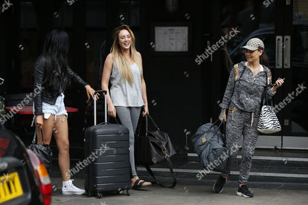 Chloe Ferry, Charlotte Crosby and Chantelle Connelly