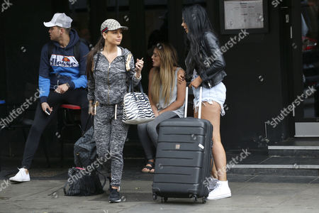Marty Mckenna, Chloe Ferry, Charlotte Crosby and Chantelle Connelly