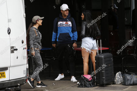 Chantelle Connelly, Chloe Ferry and Marty Mckenna