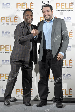 Stock Picture of Pele and Ivan Orlic