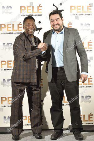 Pele and Ivan Orlic