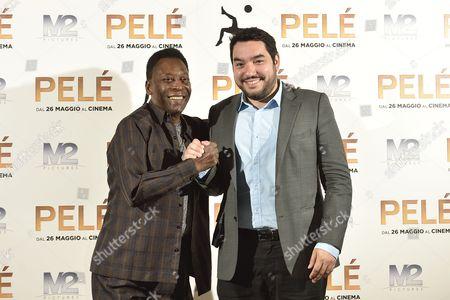 Stock Photo of Pele and Ivan Orlic