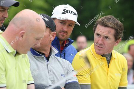 Keith Wood, Shane Warne, Graeme McDowell and Tony McCoy