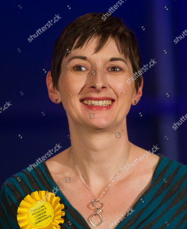 Stock Photo of London Assembly Member Caroline Pidgeon, Liberal Democrat Party