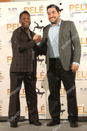 Editorial photo of 'Pele' film photocall, Milan, Italy - 25 May 2016