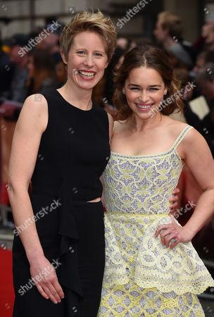 Emilia Clarke and Thea Sharrock