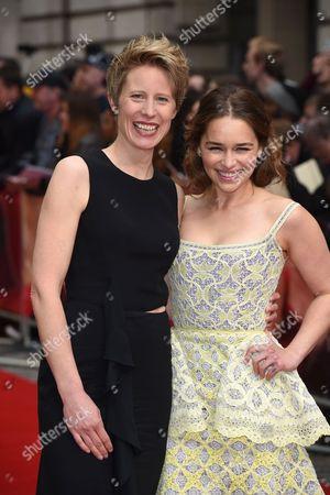 Thea Sharrock and Emilia Clarke