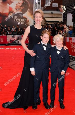 Thea Sharrock and sons
