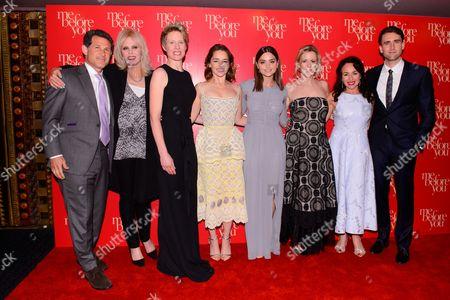 Joanna Lumley, Thea Sharrock, Emilia Clarke, Jenna Coleman, JoJo Moyes, Samantha Spiro and Matthew Lewis