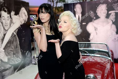 Daisy Lowe and Suzie Kennedy