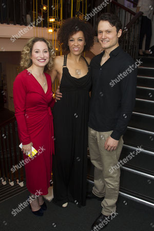 Stock Picture of Carrie Taylor Johnson, Ebony Molina and Tim Hodges