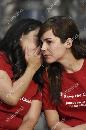 Tiare Scanda and Camila Sodi