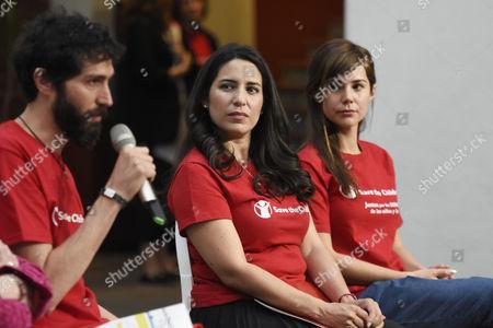 Benny Ibarra, Teare Scanda and Camila Sodi