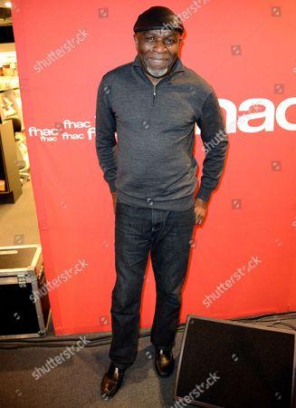 Editorial photo of Ray Lema showcase at the FNAC Montparnasse, Paris, France - 25 May 2016