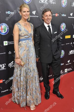 Valeria Mazza and Alejandro Gravier