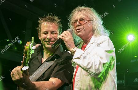 Robert Adrian and band member