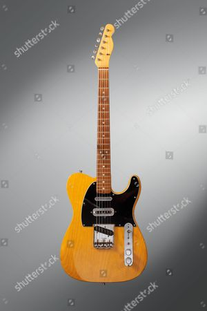 A Vintage 1966 Fender Telecaster Electric Guitar Previously Owned By English Musician Mike Oldfield