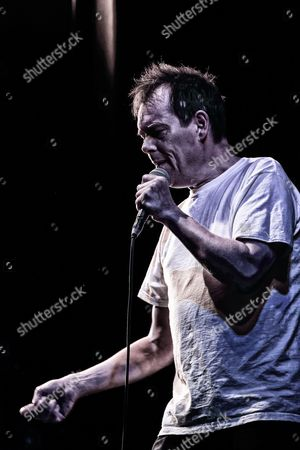 """Kevin Eldon performing at the Cambridge theatre in """"Stand up for Street Child"""", charity event in aid of Street Child's Girls Speak Out appeal"""