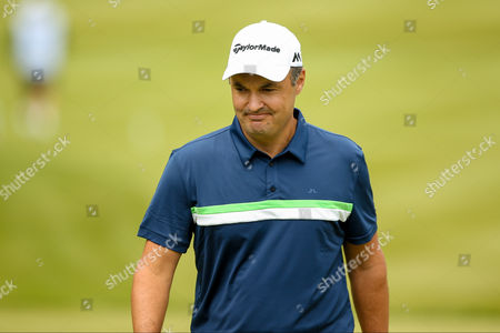 golf professional Simon Khan  during the BMW PGA Championship at the Wentworth Club, Virginia Water