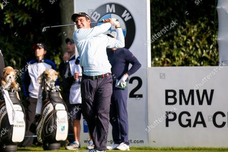 Italian golf professional Edoardo Molinari  during the BMW PGA Championship at the Wentworth Club, Virginia Water