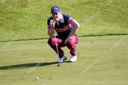 English golf professional David Horsey  during the BMW PGA Championship at the Wentworth Club, Virginia Water