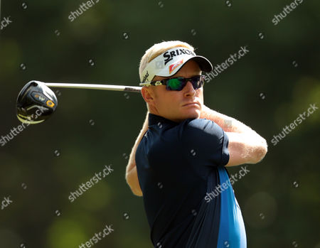 Stock Photo of Simon Dyson during The BMW PGA Championship at Wentworth Club on 26th May 2016