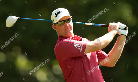 Peter Hanson during Day One The BMW PGA Championship at Wentworth Club on 26th May 2016