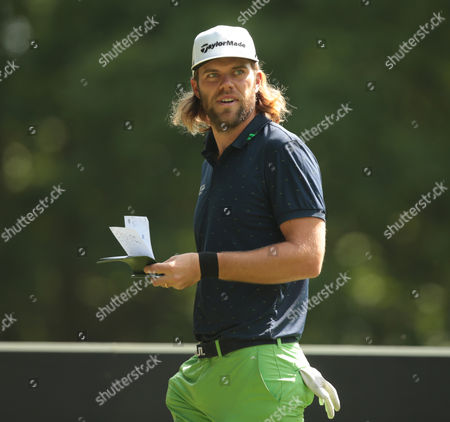 Johan Carlsson during Day One The BMW PGA Championship at Wentworth Club on 26th May 2016