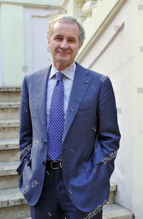 Stock Photo of Fabrizio Freda, CEO of Estee Lauder