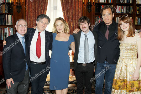 Todd Haimes, Gabriel Byrne, Jessica Lange, John Gallagher Jr, Michael Shannon and Colby Minifie