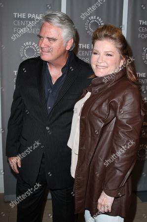 Michael Harney and Kate Mulgrew