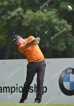 Peter Hanson of Sweden on the 3rd hole in the 3rd round