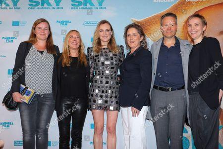 Stock Image of Gabrielle Dumon, Diane Kruger, Petra Muller, Christoph Friedel, Claudia Steffen