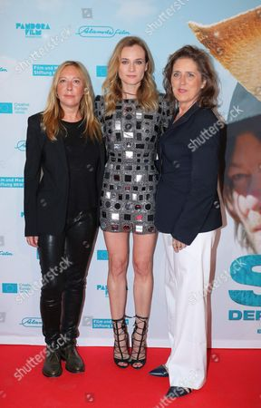 Stock Photo of Fabienne Berthaud, Diane Kruger, Petra Muller