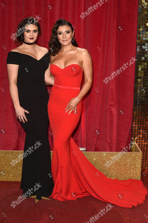 Stock Picture of Kym Marsh and daughter Emily Cunliffe